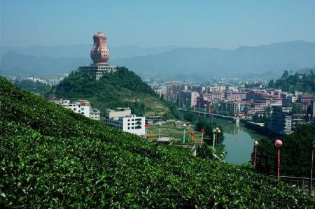贵州湄潭高台风景区